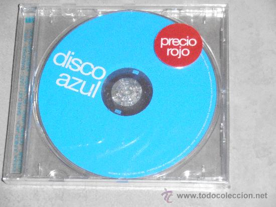 DISCO AZUL - BLANCO Y NEGRO - CD NUEVO (Música - CD's Disco y Dance)