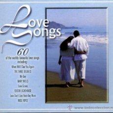 CDs de Música: LOVE SONGS 60 CANCIONES EN 3 CDS. Lote 35174212