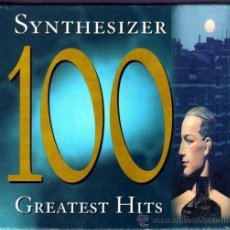 CDs de Música: SYNTHESIZER 100 GREATEST HITS EN 4 CDS. Lote 35174280