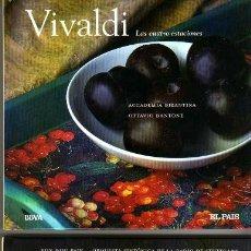 CDs de Música: BACH VIVALDI RAVEL DVORAK 4 CDS CON LIBRILLO. Lote 35174421