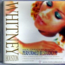 CDs de Música: WHITNEY HOUSTON PERFORMED BY STUDIO 99. Lote 35187253