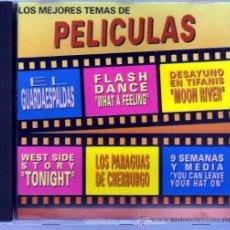 CDs de Música: LOS MEJORES TEMAS DE PELICULAS. Lote 35187267