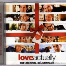 CDs de Música: LOVE ACTUALLY THE ORIGINAL SOUNDTRACK. Lote 35187331