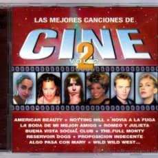 CDs de Música: 2 CDS CON LAS MEJORES CANCIONES DE CINE VOL.2. Lote 35187342