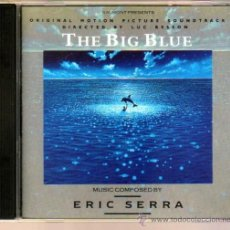 CDs de Música: THE BIG BLUE ORIGINAL HOTION PICTURE SOUNDTRACK. Lote 35187381