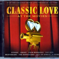 CDs de Música: CLASSIC LOVE AT THE MOVIES 2 CDS. Lote 35187404