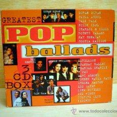 CDs de Música: POP BALLADS.BALADAS POP.3 CDS.. Lote 35220694
