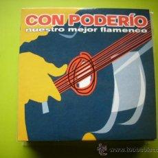 CDs de Música: CON PODERIO NUESTRO MEJOR FLAMENCO / CD PROMO SAMPLER/ 4 TRACK PEPETO. Lote 35238755