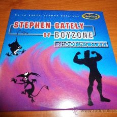 CDs de Música: STEPHEN GATELY BOYZONE SHOOTING STAR BANDA SONORA HERCULES DISNEY CD SINGLE PROMO CARTON 1997 1 TEMA. Lote 35241469