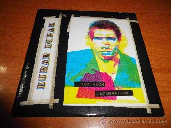 DURAN DURAN TOO MUCH INFORMATION CD SINGLE 1 TEMA EN DIRECTO DEL AÑO 1993 CONTIENE 2 TEMAS (Música - CD's Pop)