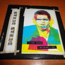 CDs de Música: DURAN DURAN TOO MUCH INFORMATION CD SINGLE 1 TEMA EN DIRECTO DEL AÑO 1993 CONTIENE 2 TEMAS. Lote 35243958