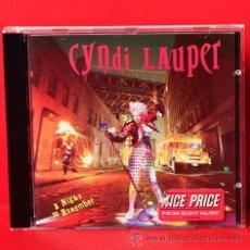 CDs de Música: CYNDI LAUPER A NIGHT TO REMEMBER CD. Lote 35305717