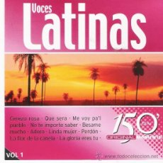 CDs de Música: VOCES LATINAS VOL. 1 Y 2. Lote 35308076