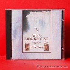 CDs de Música: THE MISSION ENNIO MORRICONE CD. Lote 35343316