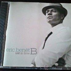 CDs de Música: ERIC BENET, LOST IN TIME - CD. Lote 35344865