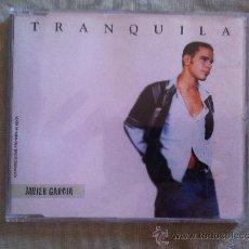 CDs de Música: CD SINGLE PROMO - JAVIER GARCIA - TRANQUILA. Lote 35349044