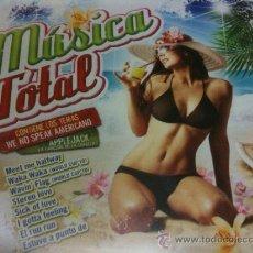 CDs de Música: MÚSICA TOTAL-19 ÉXITOS-WE NO SPEAK AMERICANO Y OTROS ÉXITOS AUDIO CD VARIOS ARTIS-NUEVO PRECINTADO. Lote 35372332