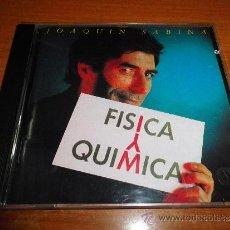 CDs de Música: JOAQUIN SABINA FISICA O QUIMICA CD ALBUM DEL AÑO 1992 CONTIENE 11 TEMAS PANCHO VARONA. Lote 35360255