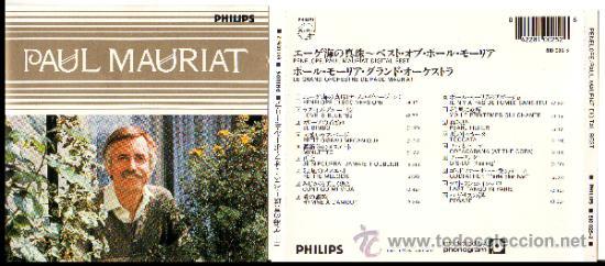 PAUL MAURIAT PENELOPE / DIGITAL BEST JAPAN GERMANY PHILIPS CD (Música - CD's Melódica )