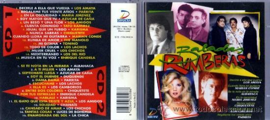 BALADAS RUMBERAS 2 CDS (Música - CD's Flamenco, Canción española y Cuplé)