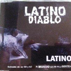 CDs de Música: CD SINGLE PROMO - LATINO-LATINO DIABLO. Lote 35402626