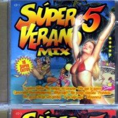 CDs de Música: SUPER VERANO 5 MIX 32 SUPER ÉXITOS EN 2 CDS. Lote 35410343