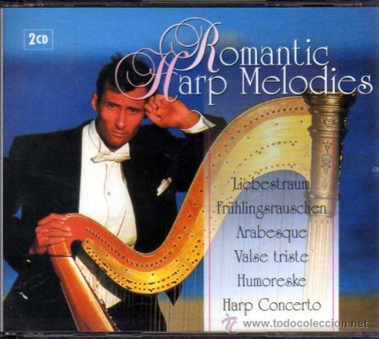 ROMANTIC HARP MELODIES 2 CDS (Música - CD's Melódica )