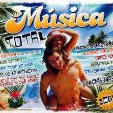 CDs de Música: MUSICA TOTAL 2 CDS. Lote 35411797