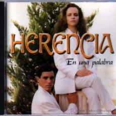 CDs de Música: HERENCIA EN UNA PALABRA. Lote 35411974
