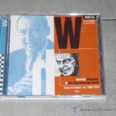 CDs de Música: WOODY HERMAN & HIS THUNDERING HERD - KEEP ON KEEPIN' ON:1968-1970 - CHESS. Lote 35420417