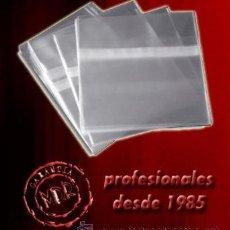 CDs de Música: 100 FUNDAS CD AUTOCIERRE ADHESIVO REMOVIBLE -NUEVAS- CIERRE ESPECIAL COLECCIONISTAS. Lote 294120703