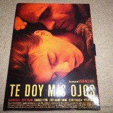 CDs de Música: TE DOY MIS OJOS CAJA PROMOCIONAL ESPECIAL CD DVD VHS DOSSIER DE PRENSA CON CD FOTOS Y CUADERNILLO . Lote 35428075