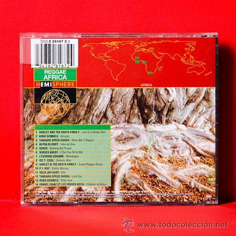 CDs de Música: REGGAE AFRICA CD - Foto 2 - 35456364