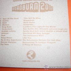 CDs de Música: ROADBURN 2012 CD DIGIPACK INCREIBLE RECOPILATORIO-. Lote 36318451