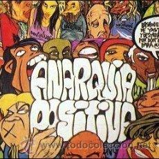 CDs de Música: CD ANARQUIA POSITIVA RAP RADIKAL ASTURIAS OVIEDO KAKI ARKARAZO ANARKIA 1997 . Lote 35476365