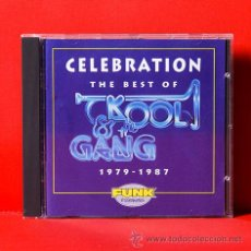 CDs de Música: CELEBRATION THE BEST OF KOOL & THE GANG 1979-1987 CD. Lote 35505473