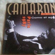 CDs de Música: CD SINGLE-CAMARON-COMO EL AGUA. Lote 35521956