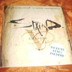 CDs de Música: STAIND-CHAPTER. SAMPLER PROMOCIONAL. INCLUYE TEMA INEDITO. 3 TEMAS.. Lote 35540343