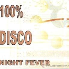 CDs de Música: CD 3 CDS 100% DISCO NIGHT FEVER . Lote 35546382