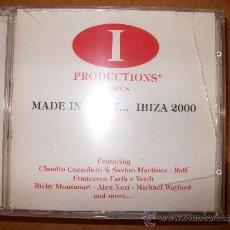 CDs de Música: CD - MADE IN ITALY… IBIZA 2000 - VOL1 - BLANCO Y NEGRO - PRECINTADO. Lote 35553615
