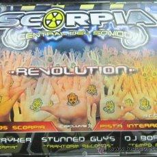 CDs de Musique: SCORPIA REVOLUTION - 3 CD 'S - SKRYKER / STUNNED GUYS / BORR X - NUEVOS. Lote 183779530