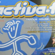 CDs de Música: ACTIVA-T - 3 CD - TRANCE HOUSE DANCE - CHER SIMPLY REDDR ELEPHANT - NUEVO SIN PRECINTAR. Lote 35568320