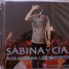 CDs de Música: 'SABINA Y CÍA - NOS SOBRAN LOS MOTIVOS'. SÓLO LA CAJA, CD NO.. Lote 35585103