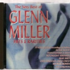 CDs de Música: CD THE VERY BEST OF GLENN MILLER - HITS & RARITIES ( 20 TRACKS ). Lote 35588761