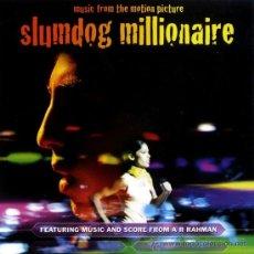 CDs de Música: SLUMDOG MILLIONAIRE * CD * LA MEJOR BANDA SONORA * PRECINTAD!!. Lote 70343549
