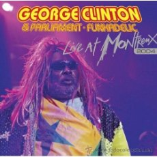 CDs de Música: GEORGE CLINTON + FUNKADELIC + PARLIAMENT *CD * LIVE AT MONTREUX 2004* RARE * PRECINTADO!!. Lote 35604778