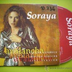 CDs de Música: SORAYA / AVALANCHA (3 VERSIONES) (CD SINGLE 1997). Lote 35622979