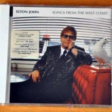 CDs de Música: ELTON JOHN - SONGS FROM THE WEST COAST - CD ALBUM - 12 TRACKS - MERCURY RECORDS 2001. Lote 35616292