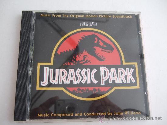 BANDA SONORA ORIGINAL DE LA PELICULA JURASSIC PARK - JOHN WILLIAMS - CD -1992 (Música - CD's Bandas Sonoras)