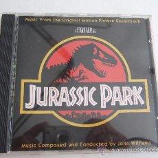 CDs de Música: BANDA SONORA ORIGINAL DE LA PELICULA JURASSIC PARK - JOHN WILLIAMS - CD -1992. Lote 45540038